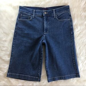 NYDJ Not Your Daughter's Jeans Denim Shorts Sz 8P